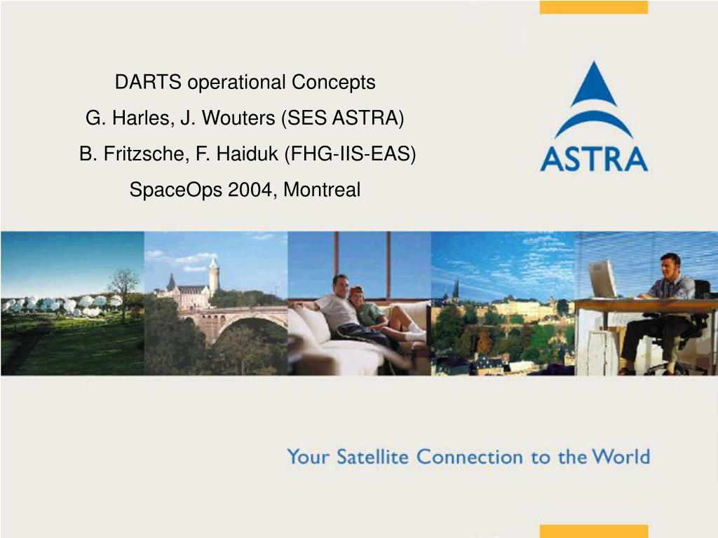 DARTS operational Concepts