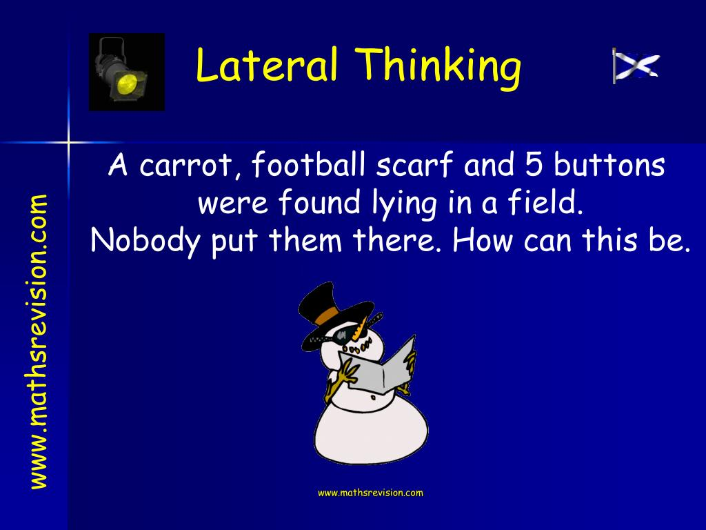 A carrot, football scarf and 5 buttons