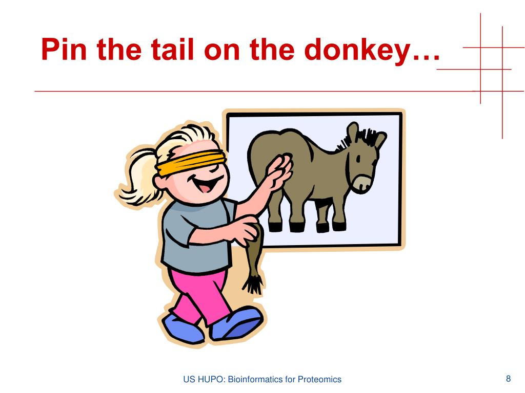 Pin the tail on the donkey…