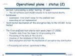 operational plane status 2