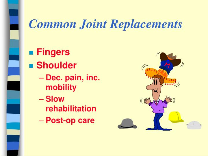 Common Joint Replacements