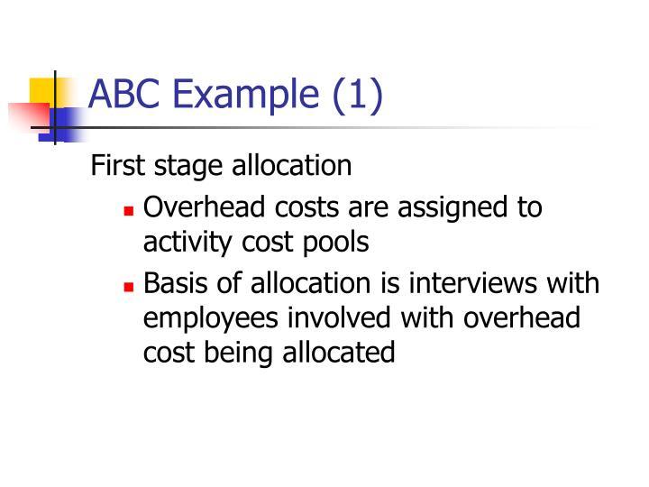 ABC Example (1)