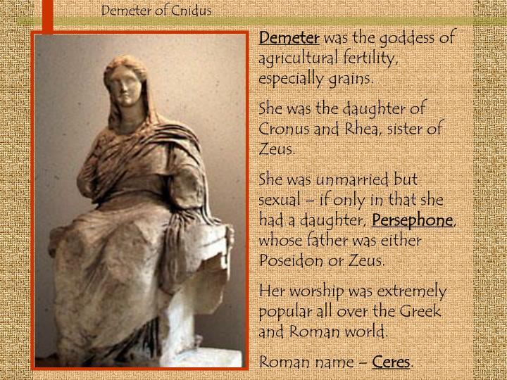 Demeter of Cnidus