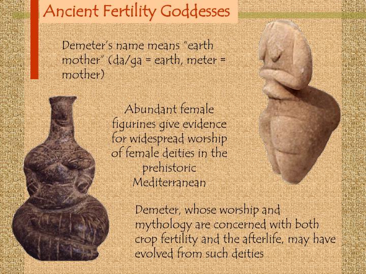 Ancient Fertility Goddesses