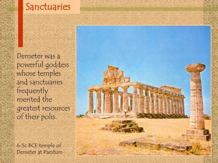 Sanctuaries
