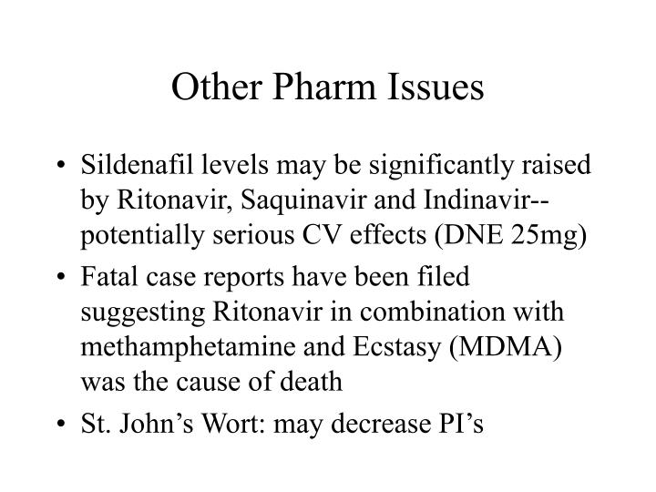 Other Pharm Issues