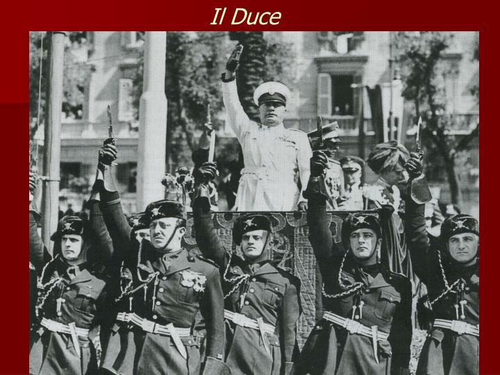 Il Duce
