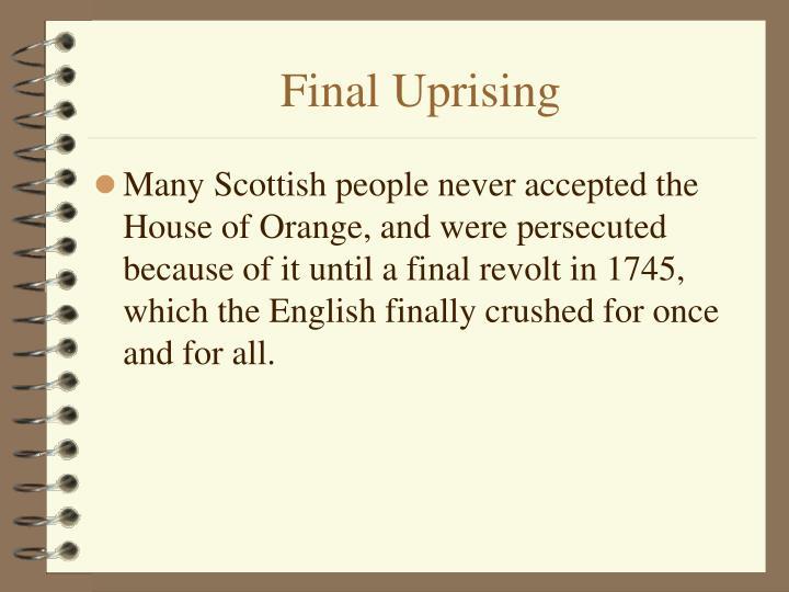 Final Uprising