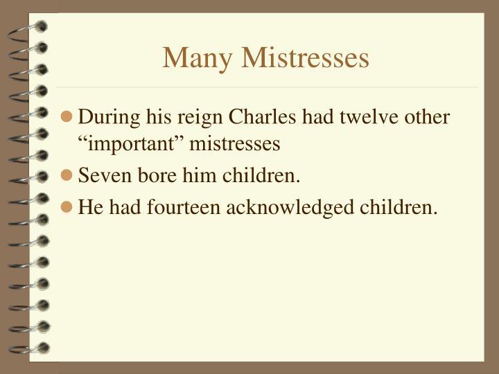 Many Mistresses