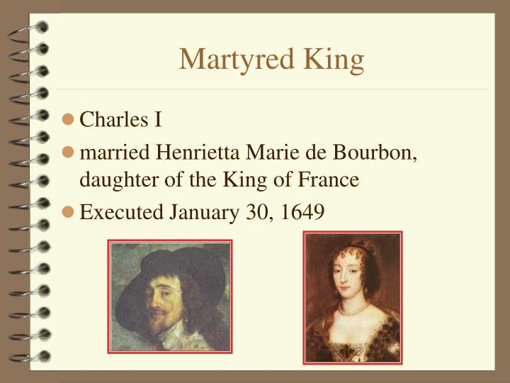 Martyred King