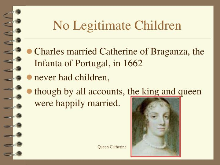 No Legitimate Children