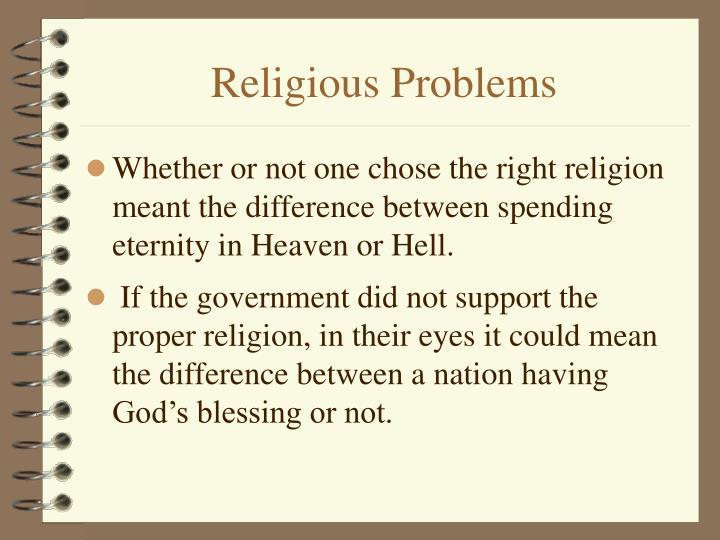 Religious Problems