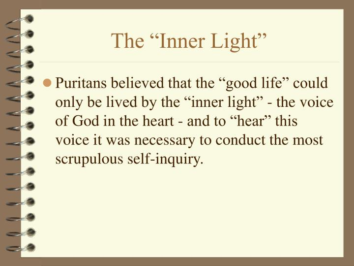 "The ""Inner Light"""