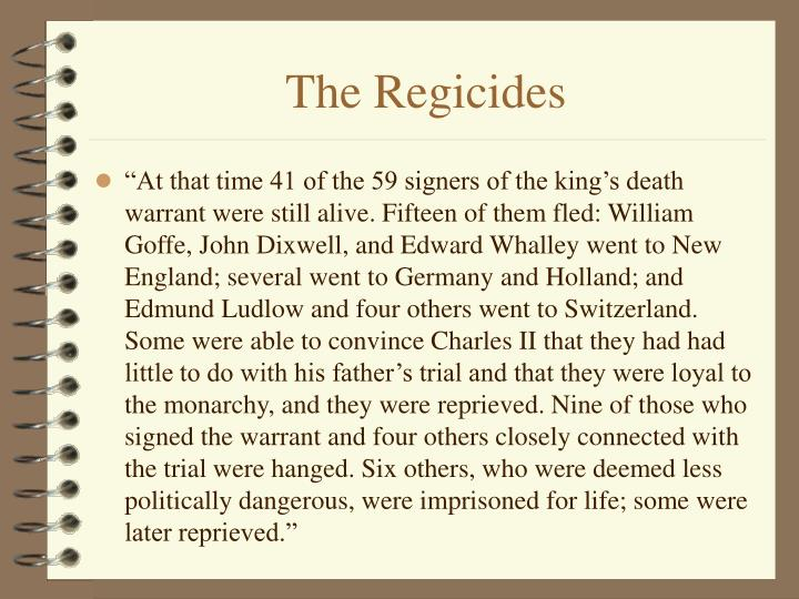 The Regicides