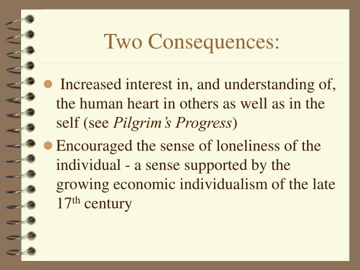 Two Consequences: