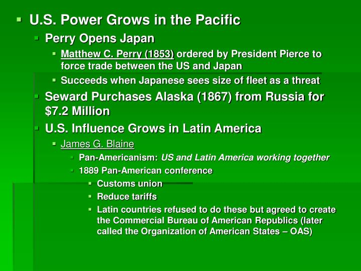 U.S. Power Grows in the Pacific