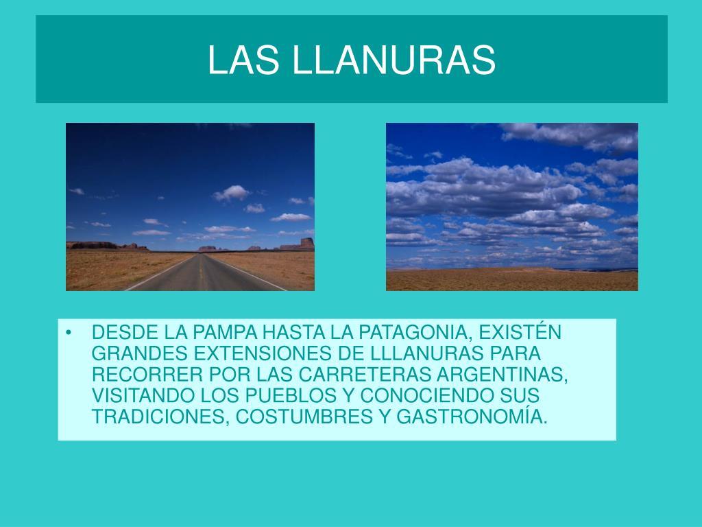 LAS LLANURAS