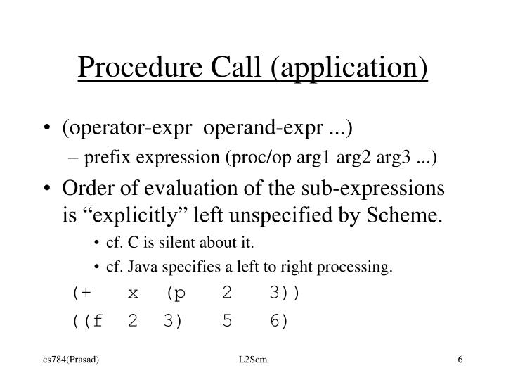Procedure Call (application)