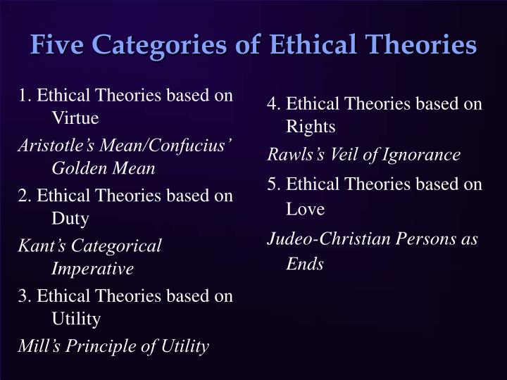 duty oriented reasoning consequence oriented and virtue oriented reasoning Duty-based and rights-based perspectives fall into this category actors in actor-oriented perspectives, the person or entity making the decision- the ethical actor- must decide what a virtuous person or entity would do, and follow that path.