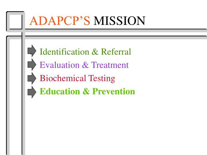 ADAPCP'S