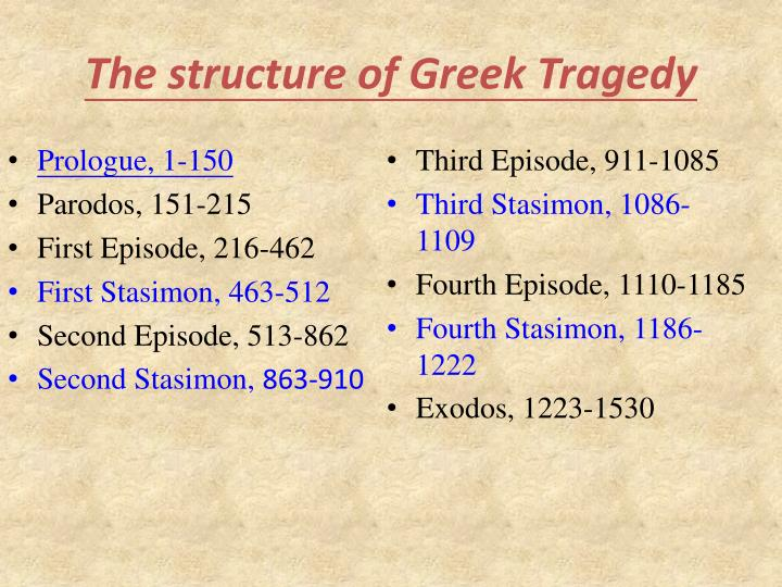Oedipus Rex as a Tragedy of Aristotle: Tragedy of Fate or Character