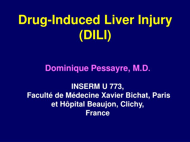 drug induced liver injury pdf