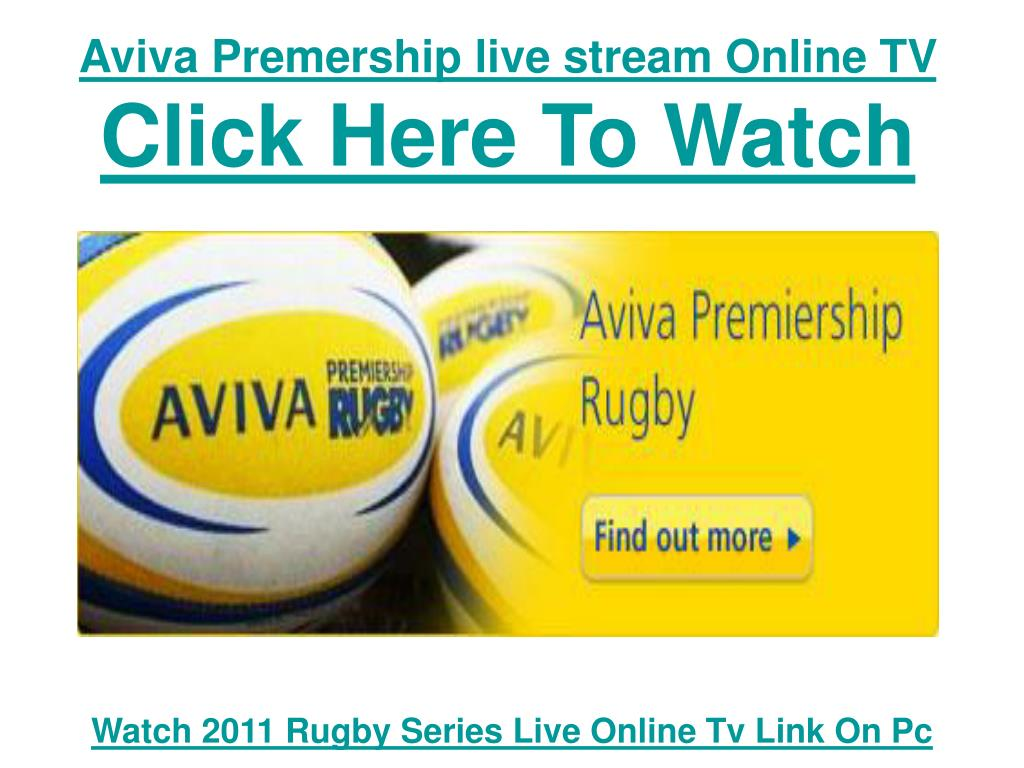 Aviva Premership live stream Online TV