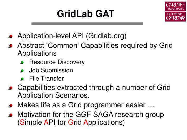 GridLab GAT