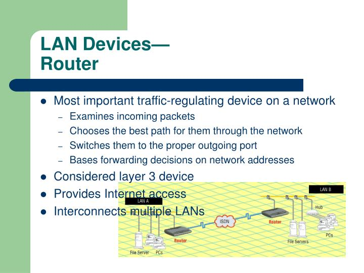 LAN Devices—