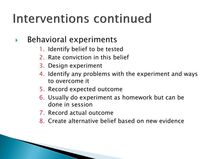an introduction to cognitive behavioral therapy for depression 18082018 this leaflet is for anyone who wants to know more about cognitive behavioural therapy  depression, panic, phobias  cognitive behaviour therapy.