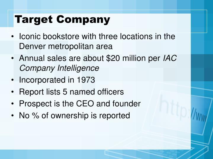 Target Company