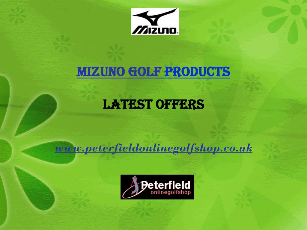 mizuno golf products latest offers
