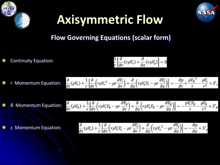 Axisymmetric Flow