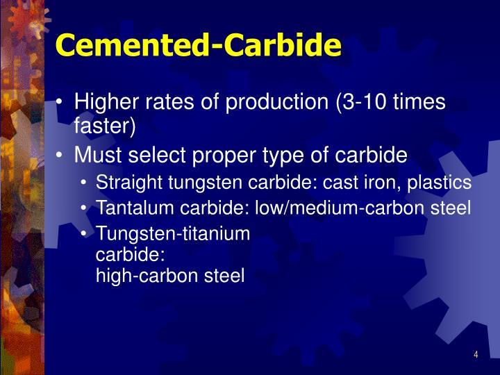 Cemented-Carbide