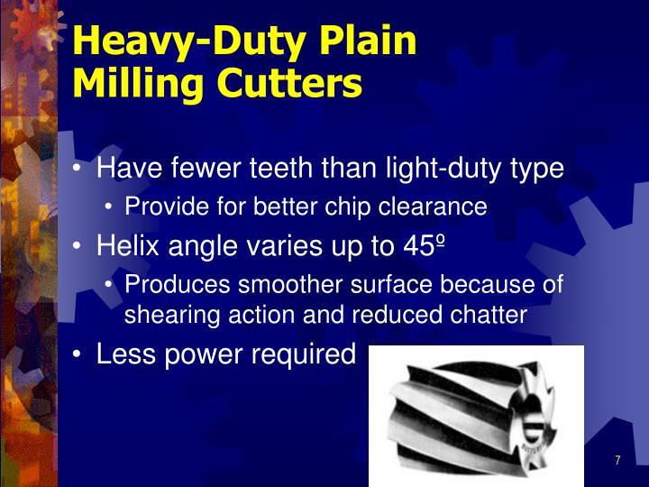 Heavy-Duty Plain