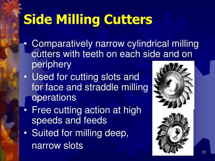Side Milling Cutters
