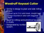 woodruff keyseat cutter
