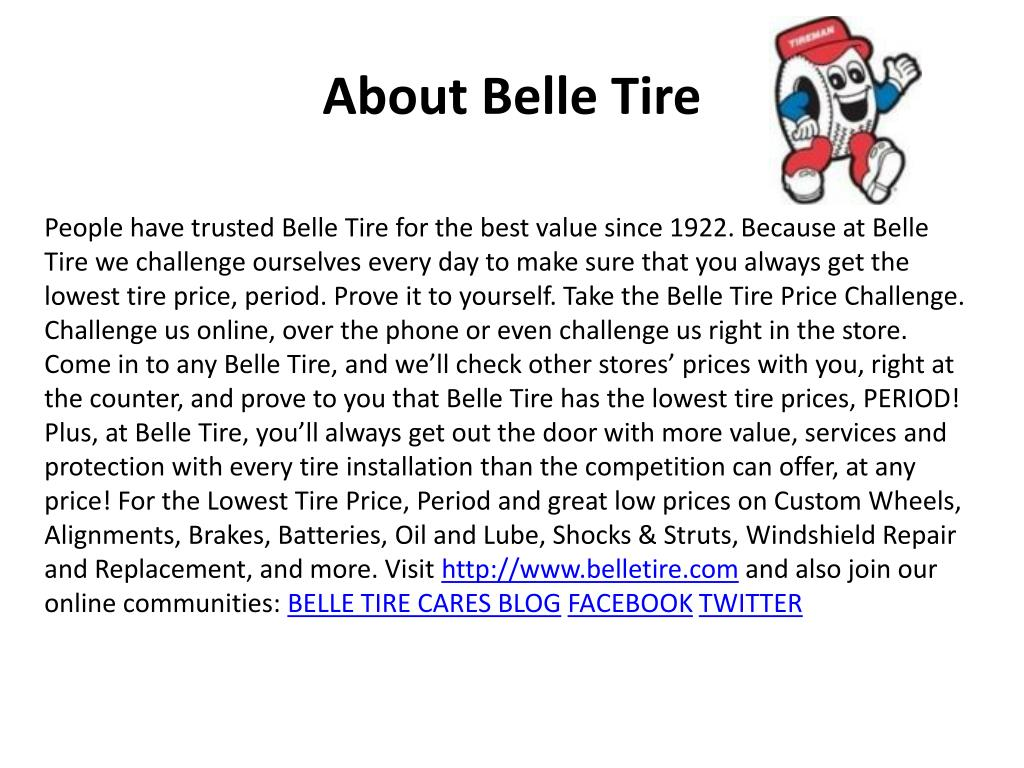 About Belle Tire