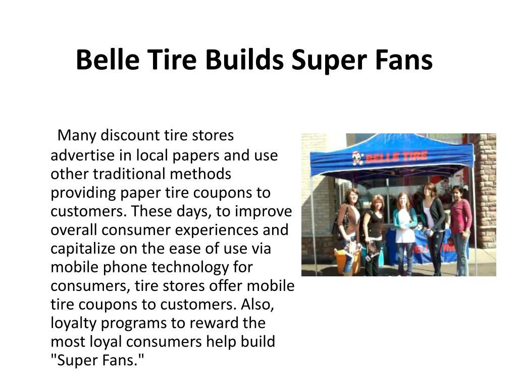 Belle Tire Builds Super Fans