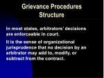 grievance procedures structure5