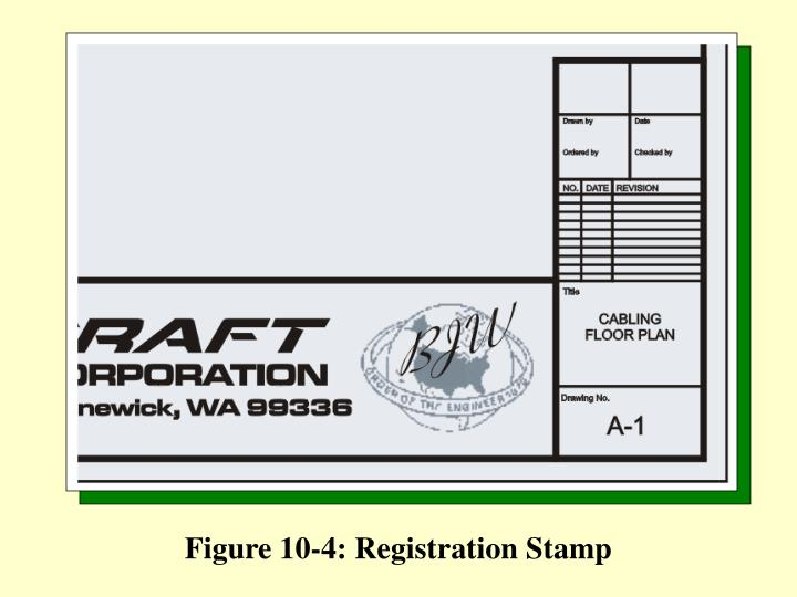 Figure 10-4: Registration Stamp