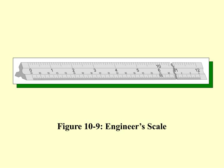 Figure 10-9: Engineer's Scale