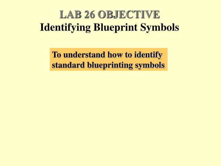 LAB 26 OBJECTIVE