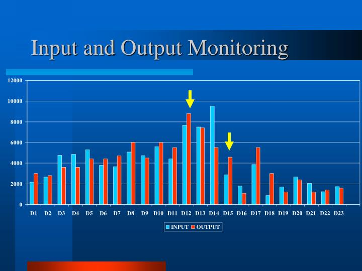 Input and Output Monitoring