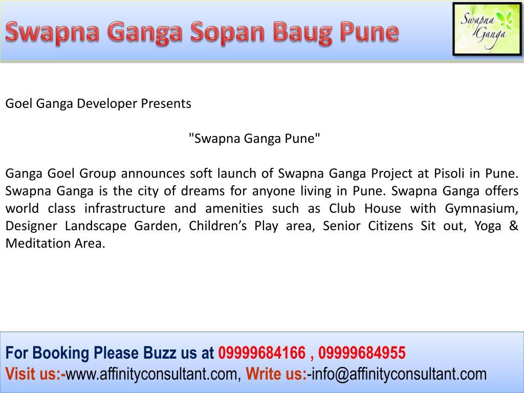 Swapna Ganga Sopan Baug Pune