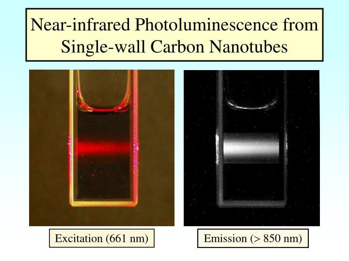 Near-infrared Photoluminescence from Single-wall Carbon Nanotubes