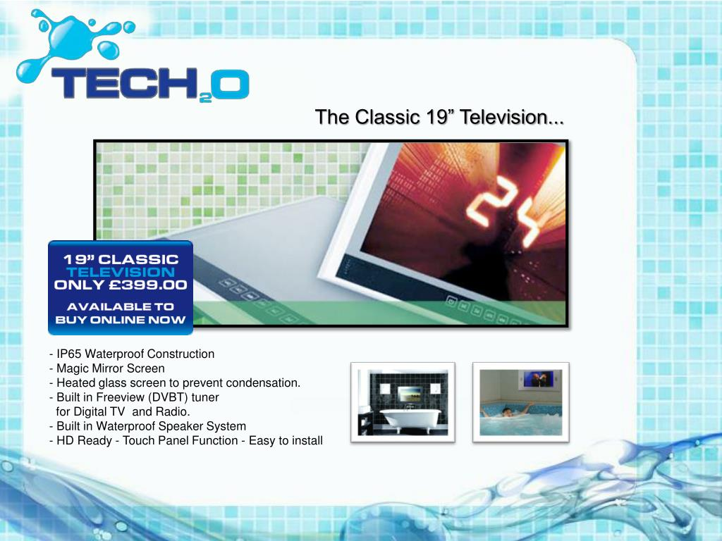 "The Classic 19"" Television..."