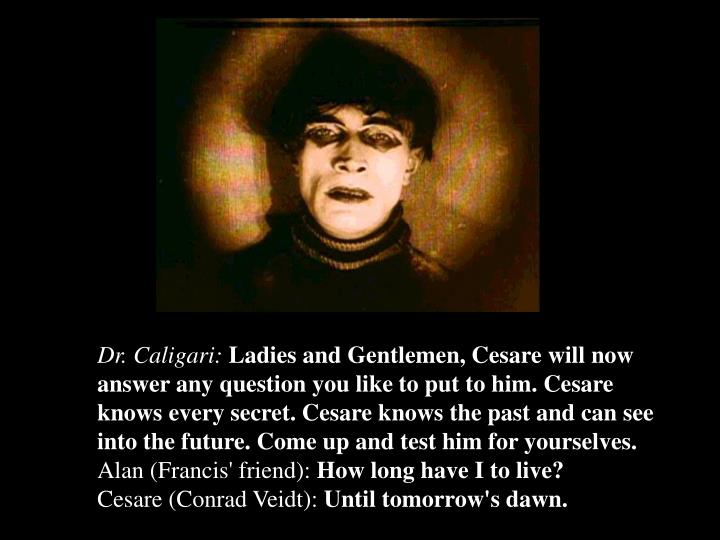 Dr. Caligari: