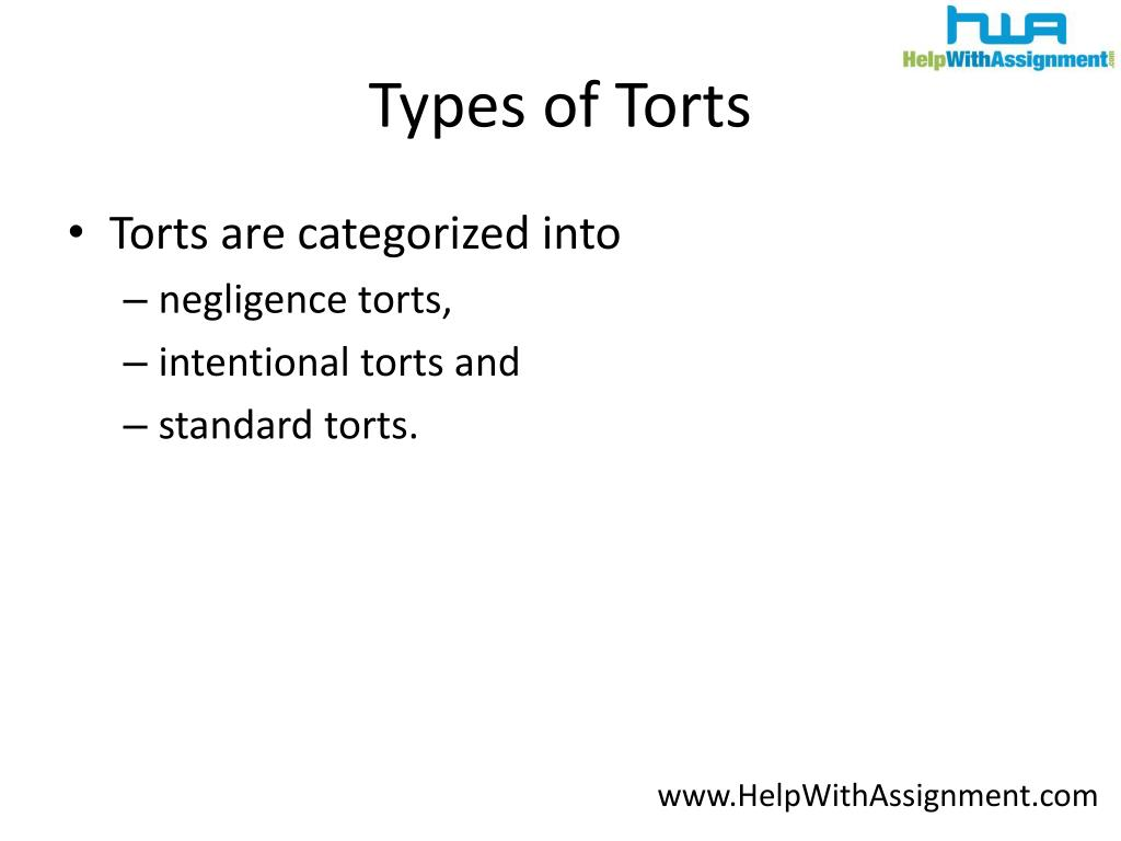 Types of Torts
