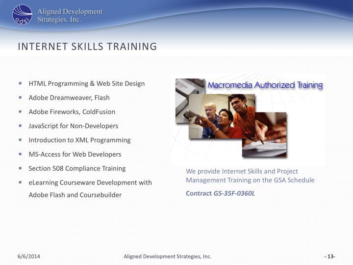 Internet Skills Training